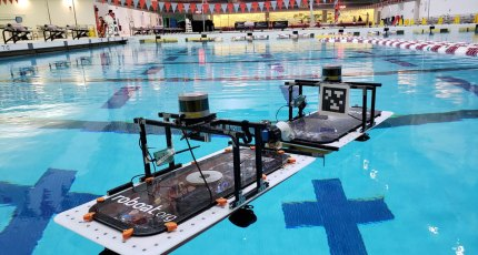 MIT's robot boats can self-assemble to build bridges, stages
