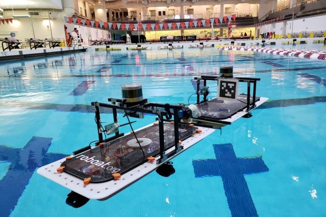 MIT's robot boats can self-assemble to build bridges, stages or even markets
