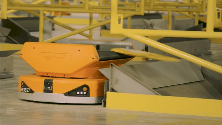 Amazon debuts a pair of new warehouse robots | TechCrunch