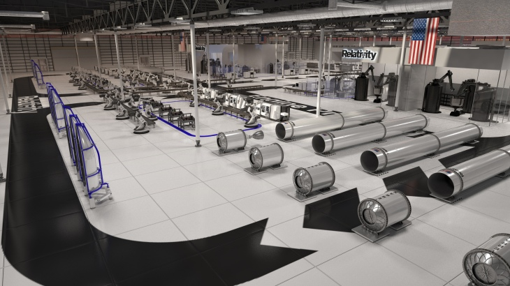 984a70462bd Relativity is building a 3D-printing rocket manufacturing hub in ...