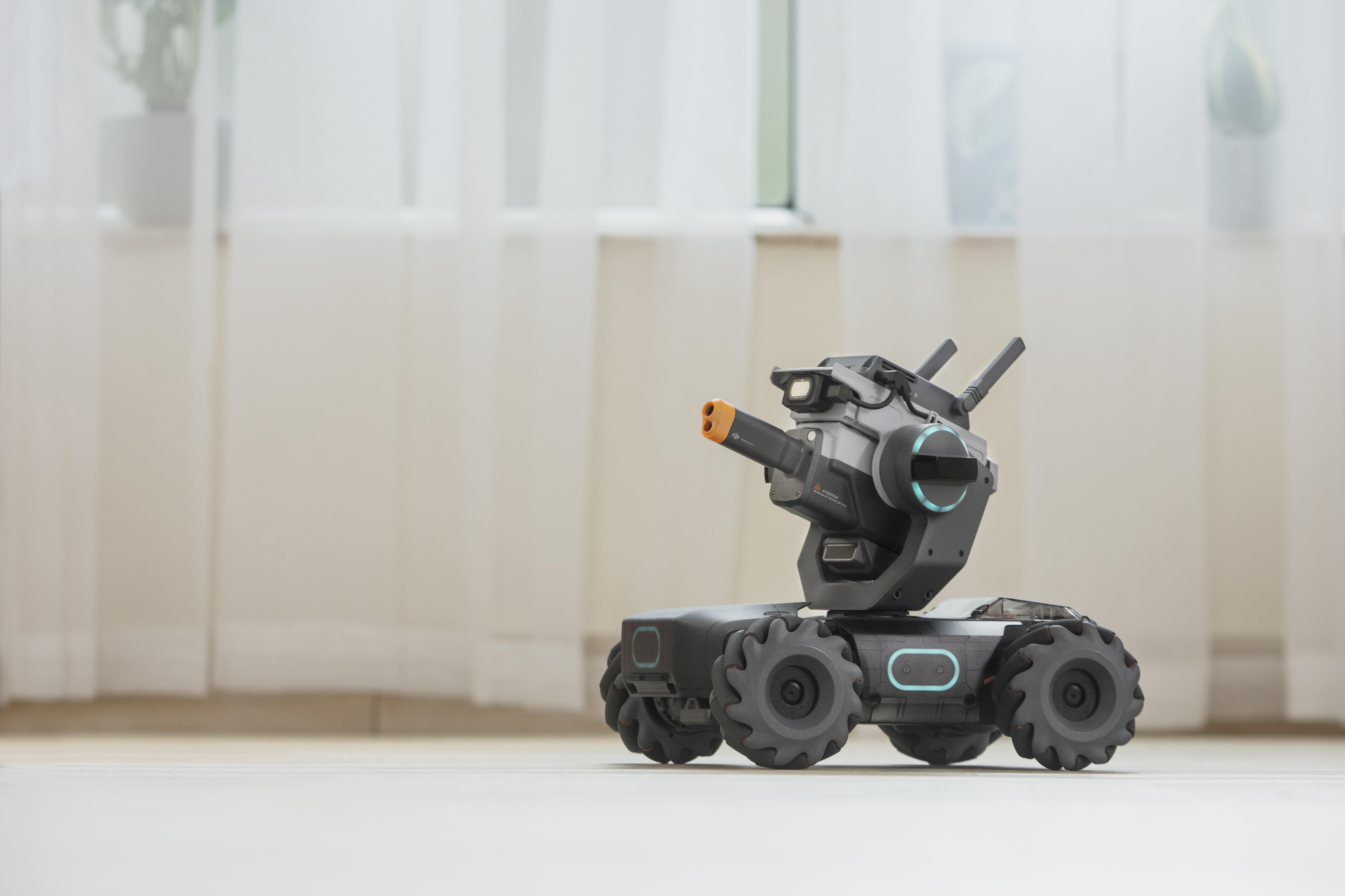 DJI gets into the battling robot business | TechCrunch