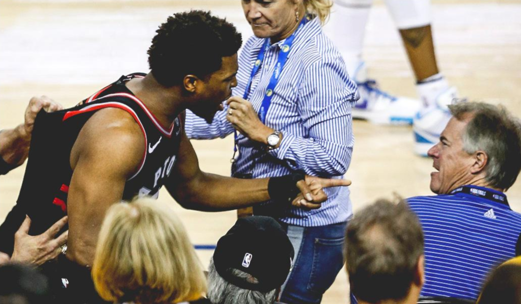 VC and Warriors' minority owner Mark Stevens banned from NBA Finals after shoving Kyle Lowry