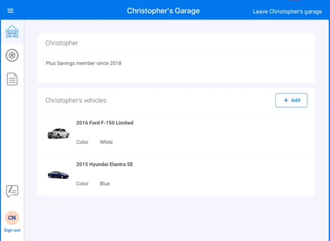 Sam's Club is upgrading tire shopping with a time-saving app