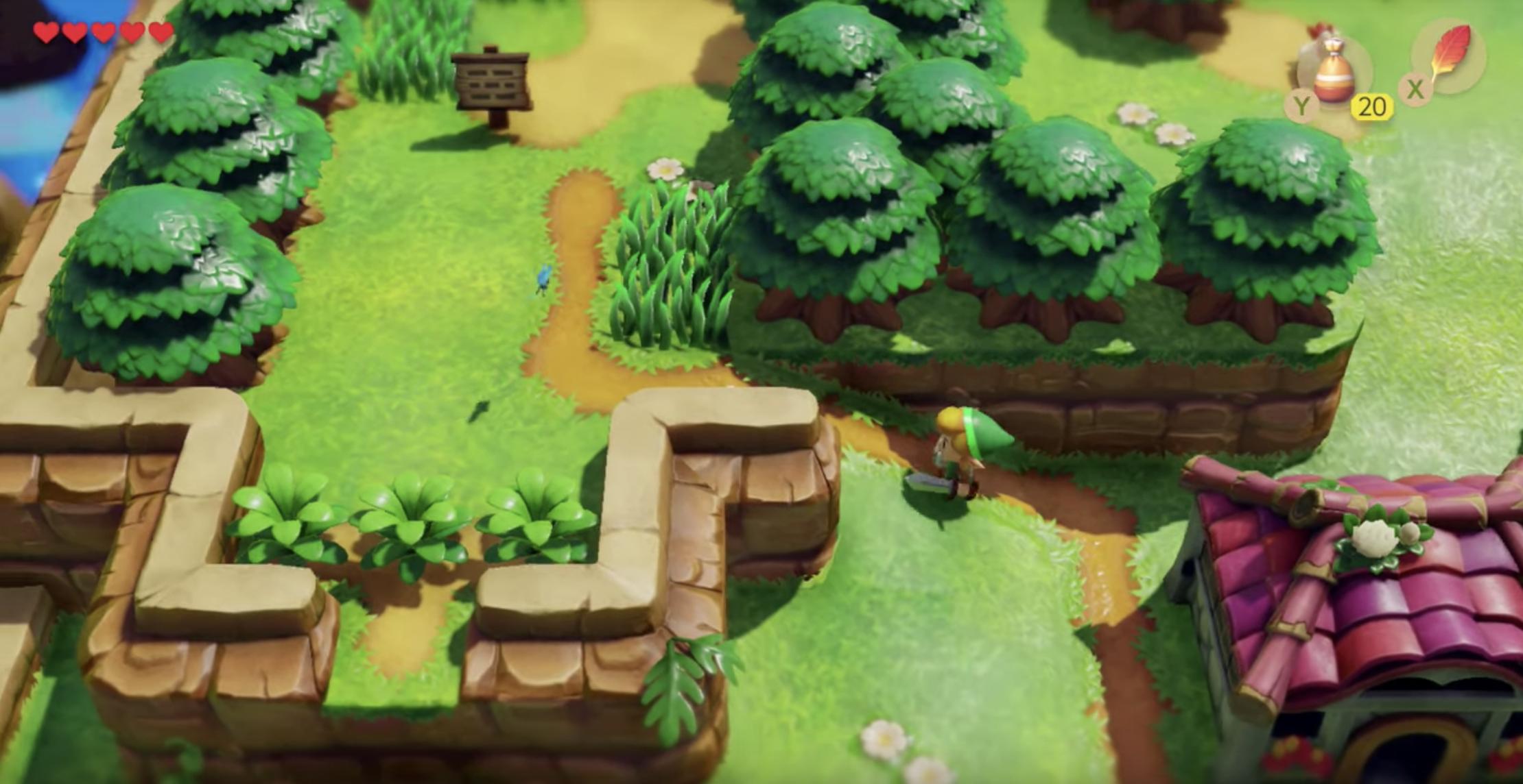 Nintendo Reimagines A Zelda Classic With Link S Awakening