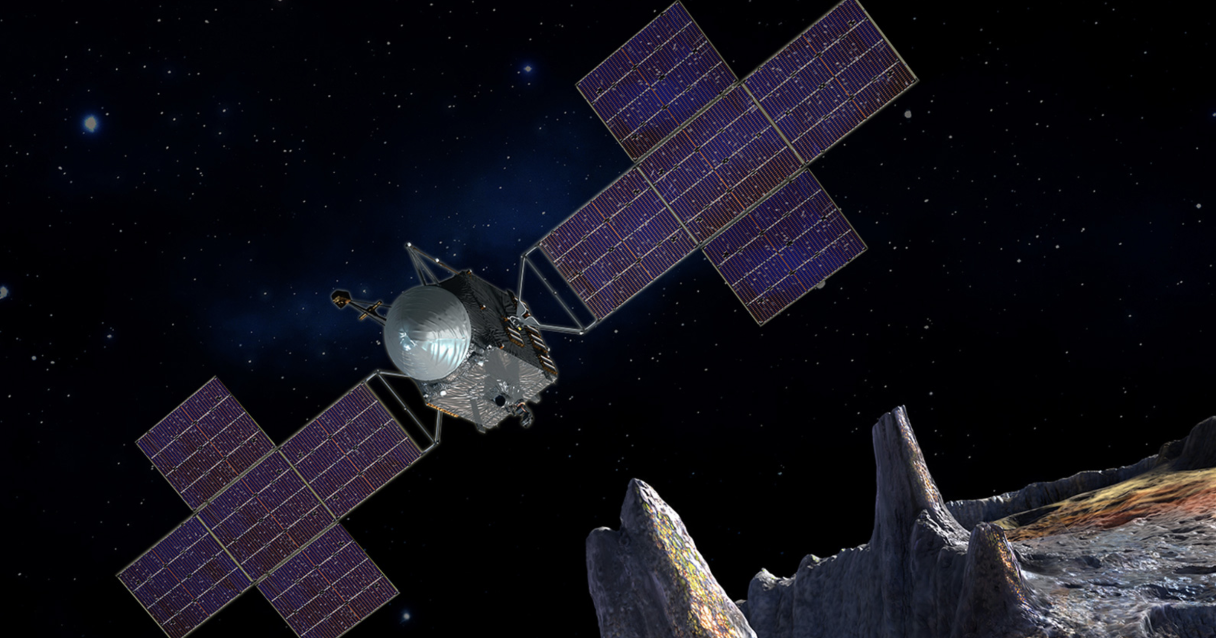 NASA moves to last planning phases for mission to explore 16 Mind's full metal asteroid