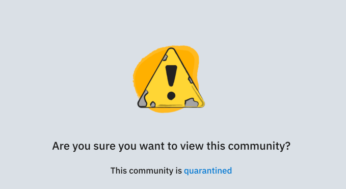 Reddit Quarantines Its Biggest Headache Internet Technology News