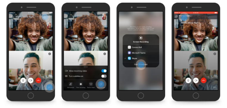 Skype publicly launches screen sharing on iOS and Android