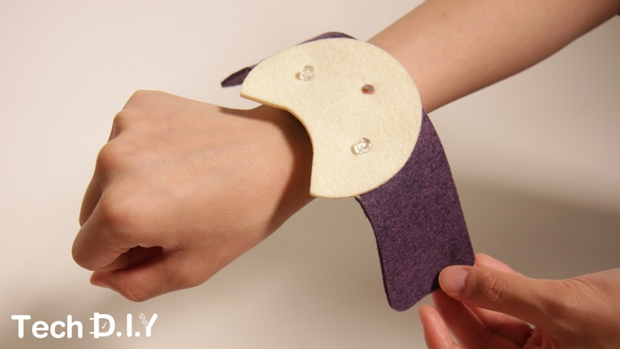 Tech DIY's Nightlight Cat Bracelet project