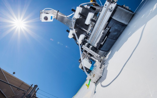 This robot crawls along wind turbine blades looking for invisible flaws – TechCrunch