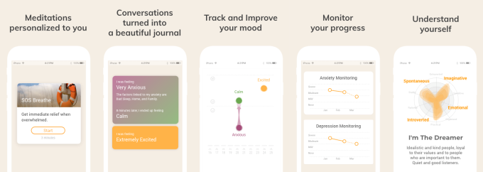 Youper A Chatbot That Helps Users Navigate Their Emotions