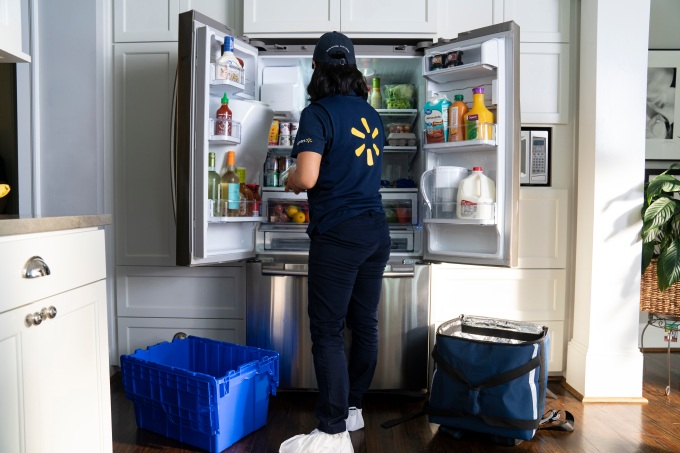Walmart to launch in-home grocery delivery in three cities, starting this fall 2