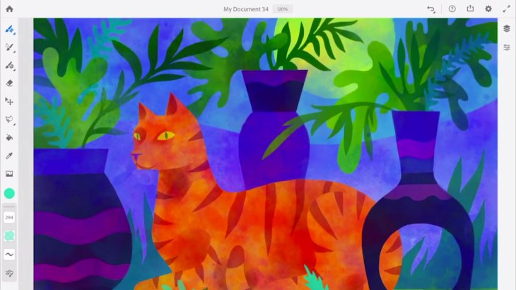 Adobe's new painting and drawing app will be called Adobe