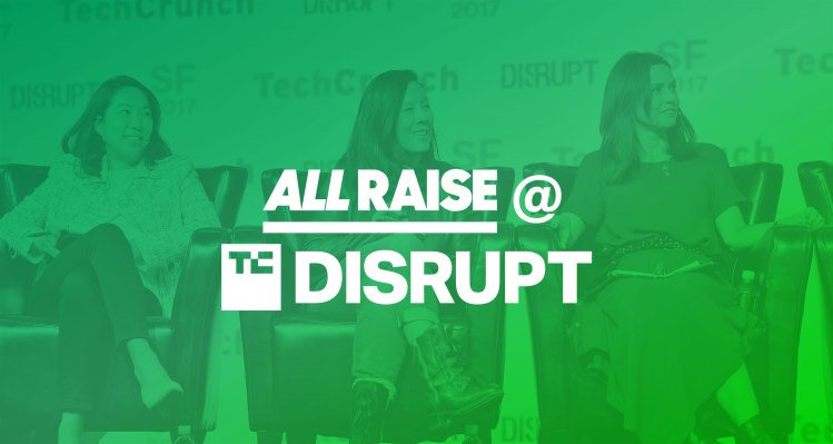 Apply for an AMA session with a female All Raise VC at Disrupt SF 2019