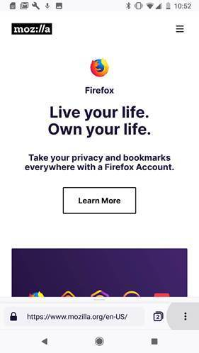 Mozilla previews a redesigned and faster Firefox for Android