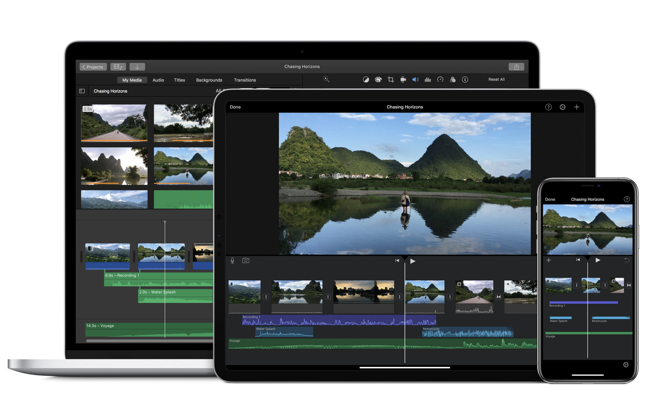 Imovie S Big Ios Update Adds 80 New Soundtracks Green Screen Effects Image Overlays Techcrunch