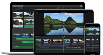 iMovie's big iOS update adds 80 new soundtracks, green