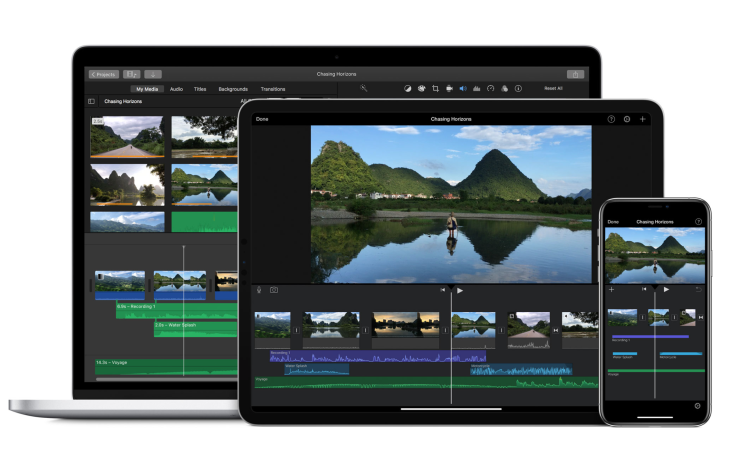 iMovie's big iOS update adds 80 new soundtracks, green-screen