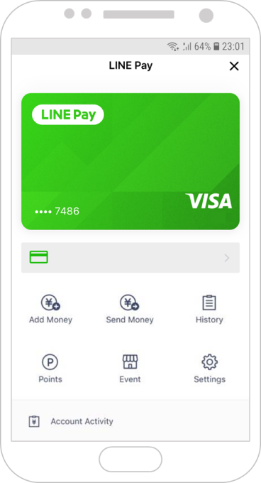 Line teams up with Visa to boost its mobile payment service