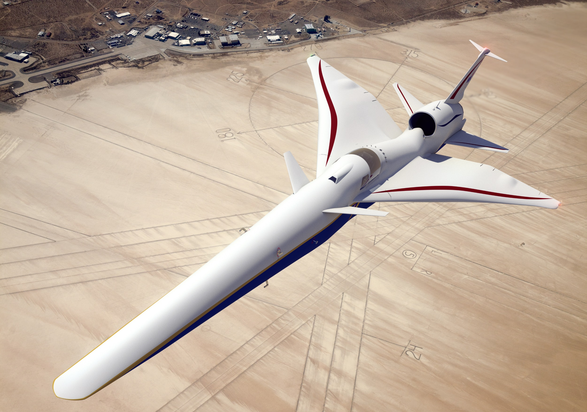 NASA's X-59 supersonic jet will have a 4K TV instead of a forward window