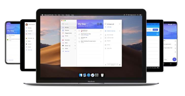 Microsoft brings its To-Do app to Mac | TechCrunch