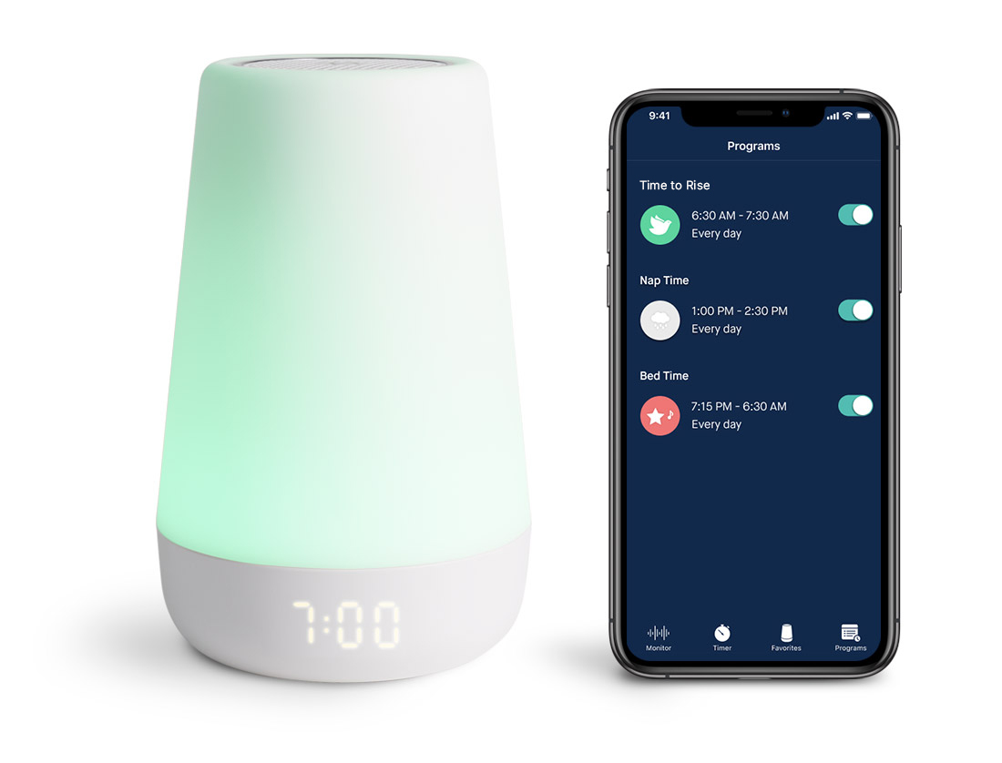 Meet Hatch Baby S Portable Wifi Enabled Sleep Device