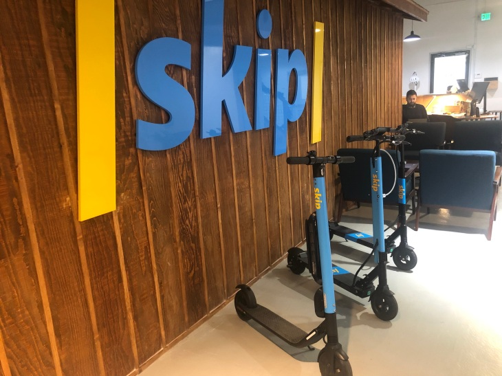 Skip pulls scooters from SF after one caught fire in D C  | TechCrunch