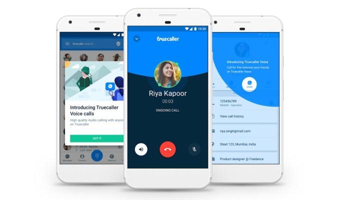 Anti-spam service Truecaller adds free voice calling feature – TechCrunch