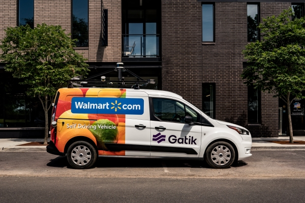 Self-driving delivery van startup Gatik AI comes out of stealth with Walmart partnership