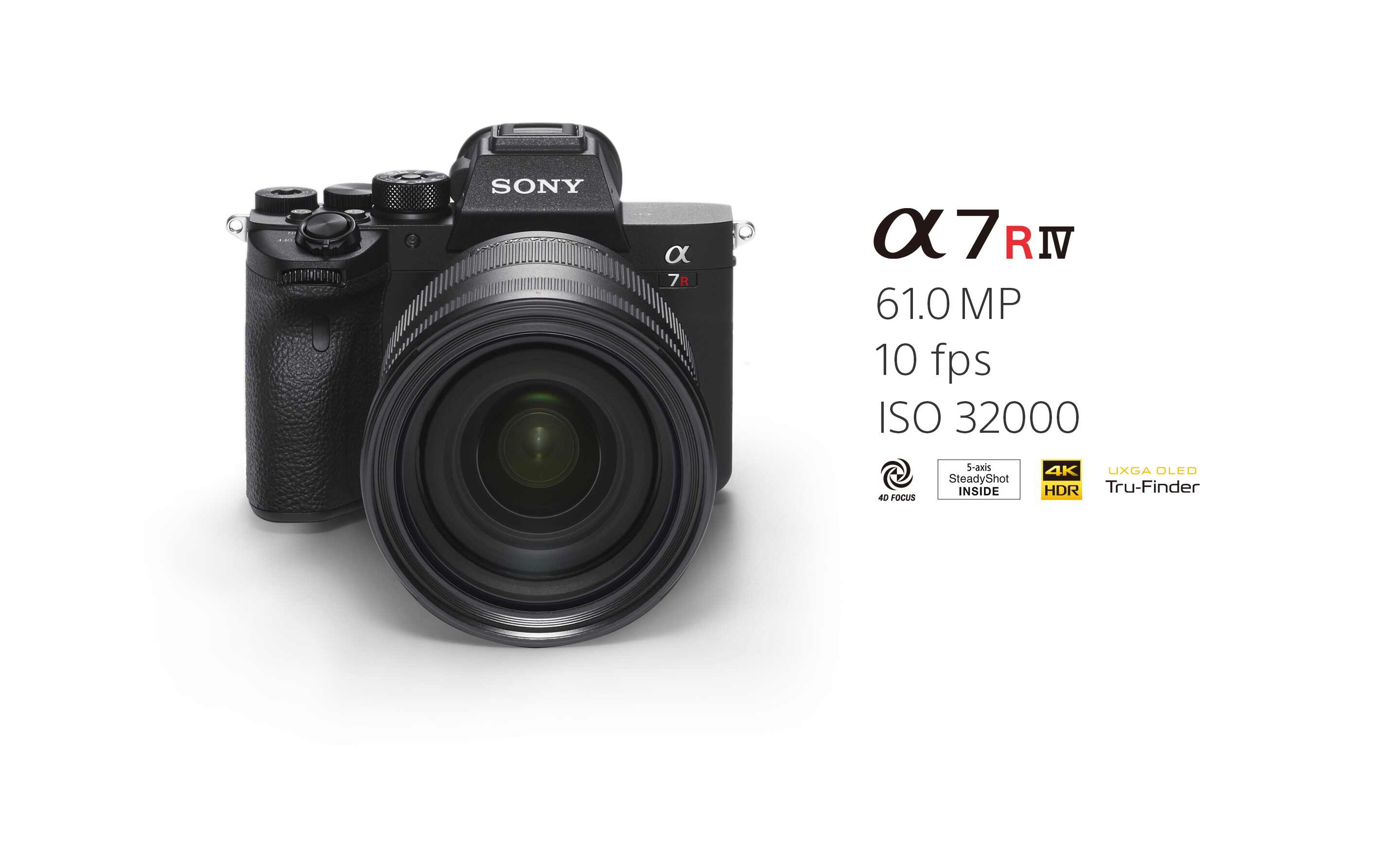 Sony's new A7R IV camera is a 61 MP full-frame mirrorless beast