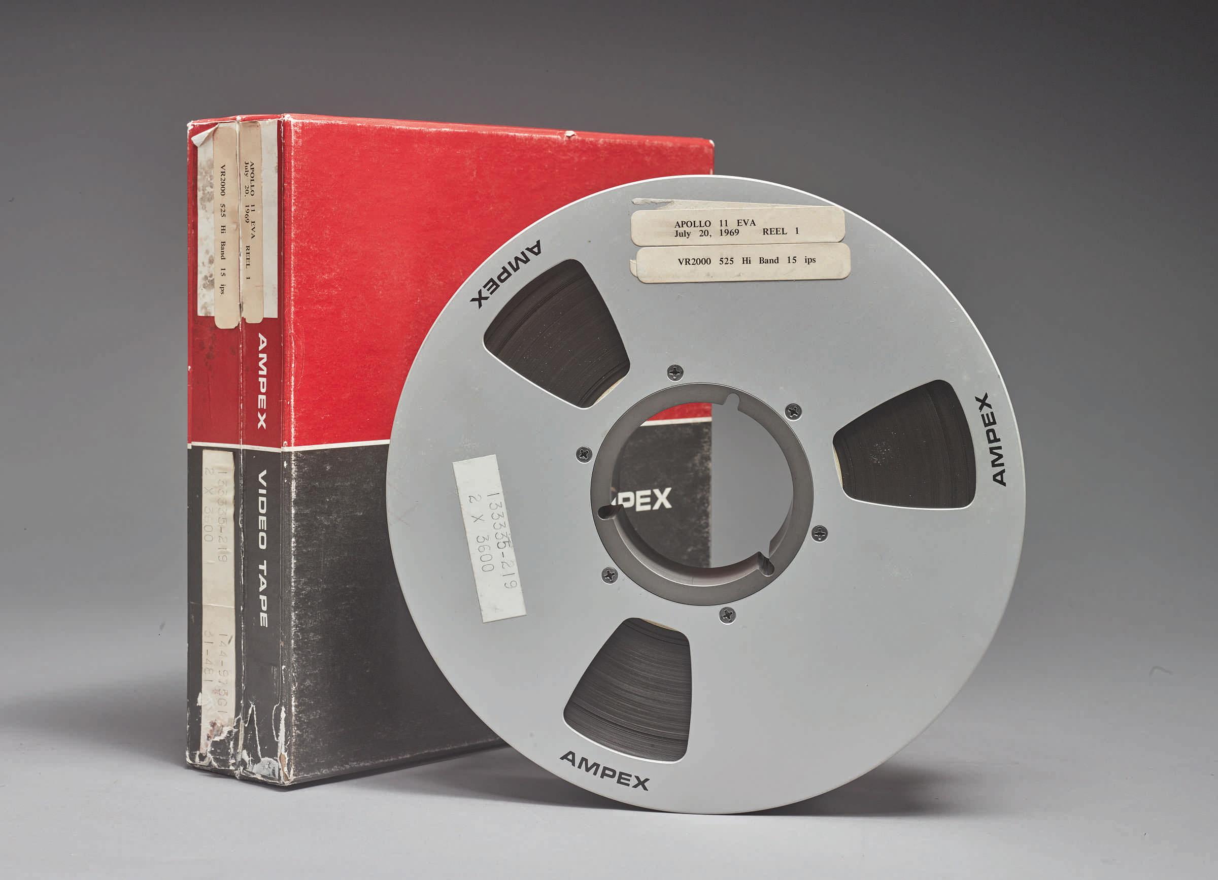 Apollo 11 Tapes Reel 1 - Original Apollo 11 landing videotapes sell for $1.8M
