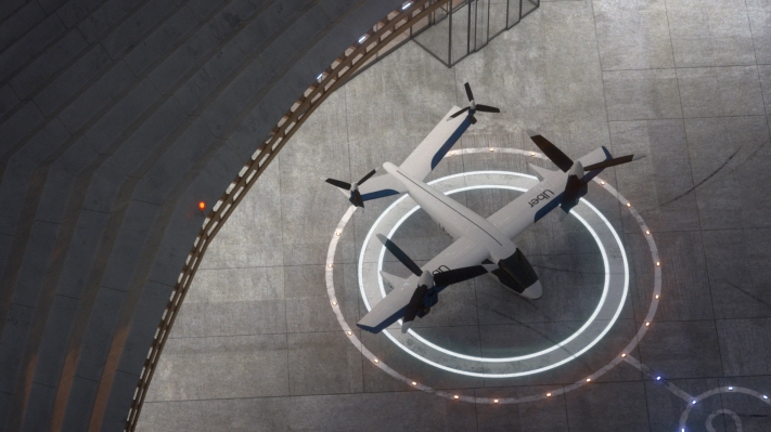 One of Uber's flying taxi partners just raised a $25 million Series A round