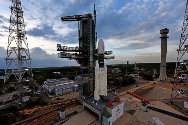 ISRO's Chandrayaan-2 Moon Lander Mission Launch Reset for July 22