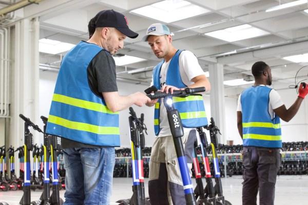 Dott raises $34 million to build a sustainable scooter startup thumbnail
