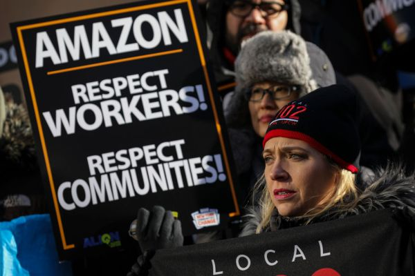 On Prime Day, Amazon workers and immigrants rights organizations are protesting – TechCrunch