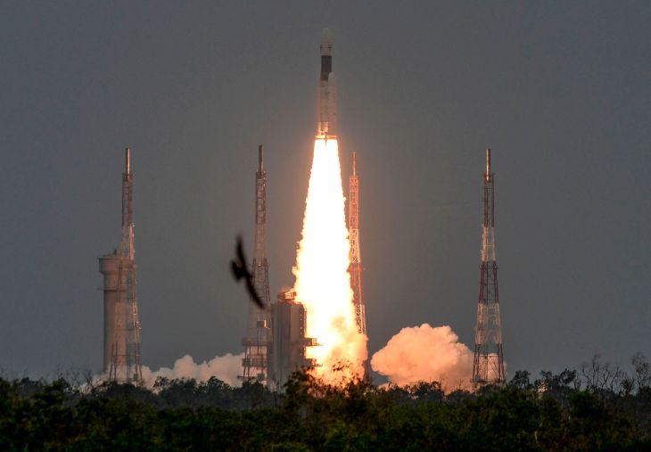 With Chandrayaan-2 launch, India's ISRO shoots for the Moon