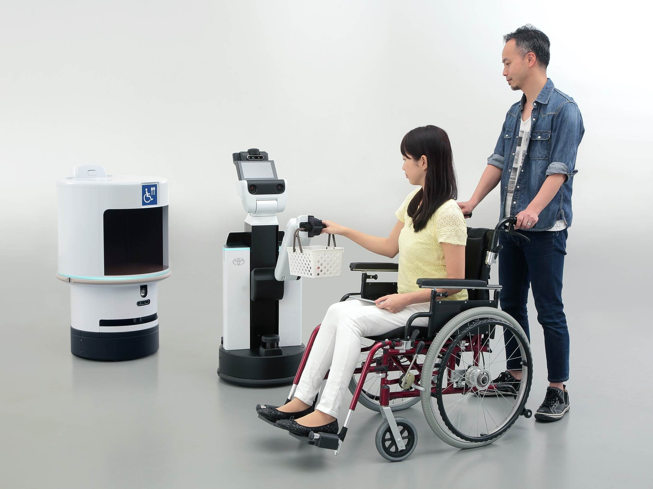 HSR Human Support Robot DSR Delivery Support Robot - Meet the robots Toyota is bringing to the 2020 Tokyo Olympic Games