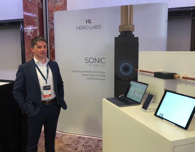 Hero Labs raises £2.5M for its ultrasonic device to monitor a property's water use and prevent leaks