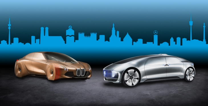 BMW and Daimler partner on autonomous driving, first results