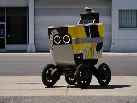 รถแลนด์โรเวอร์จัดส่งขับรถของ Postmates จะเห็นด้วย LIDAR thumbnail