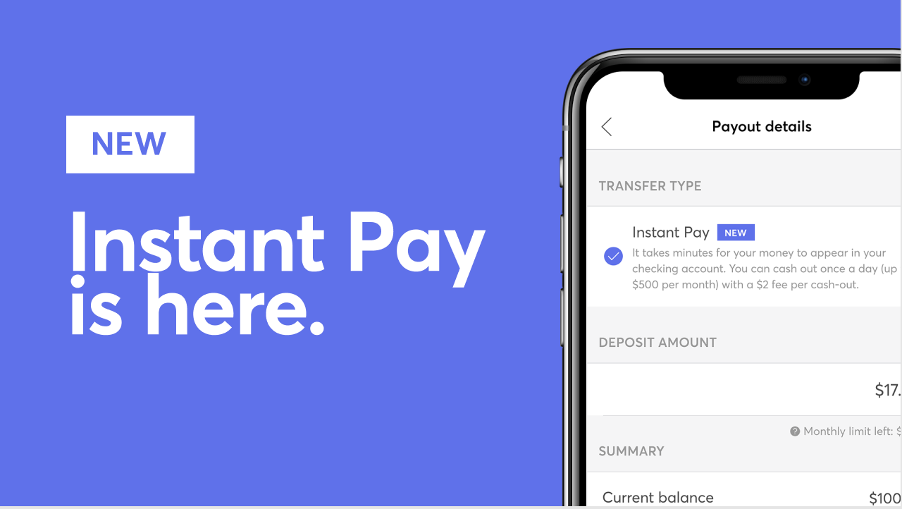 Mercari's new Instant Pay feature transfers verified sellers