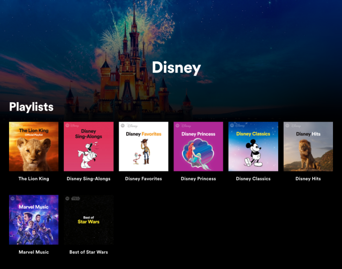 Spotify partners with Disney on a new streaming hub aimed at families