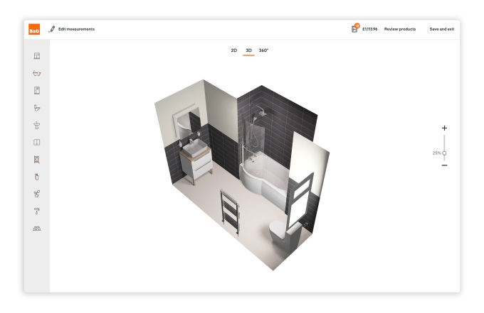 DigitalBridge raises £3M for its 'guided design tool' for kitchens and bathrooms