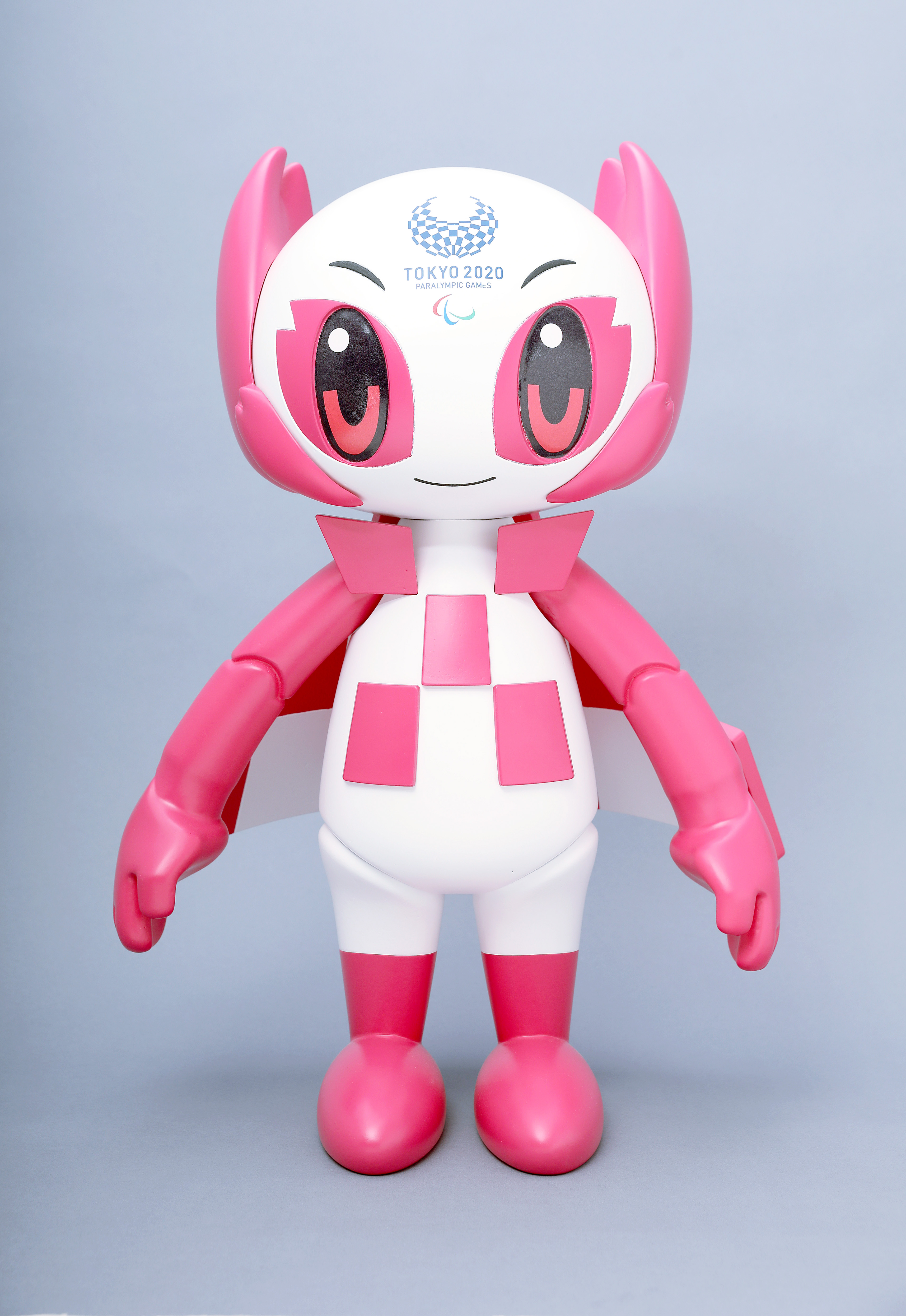 New 2020 Tokyo Olympic Official Mascot Plush Doll L Blue Limited Japan