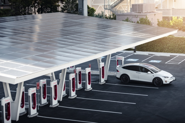Tesla's new V3 Supercharger can charge up to 1,500 electric