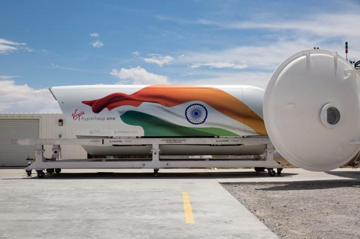Virgin Hyperloop IndiaPod