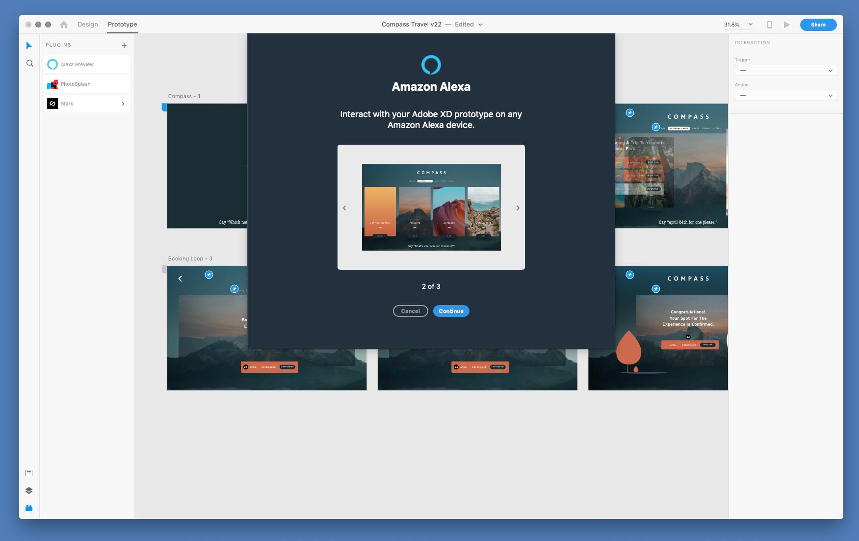 XD Amazon Alexa Plugin 01 - Adobe brings Alexa integration to its XD prototyping tool