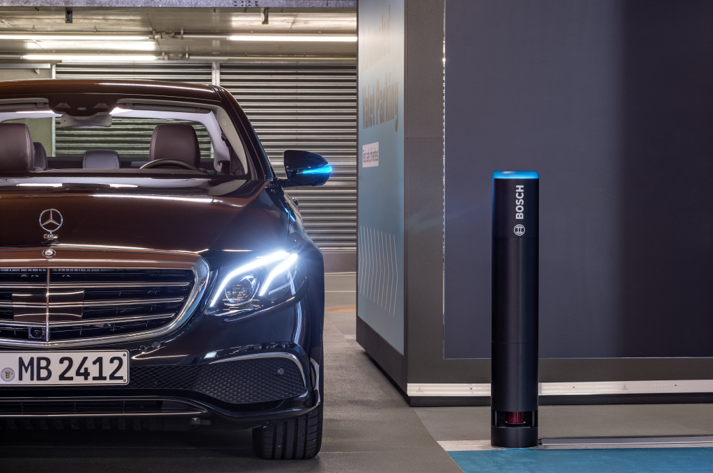 Daimler and Bosch's driverless parking gets OK to operate without