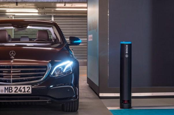 Daimler automated parking