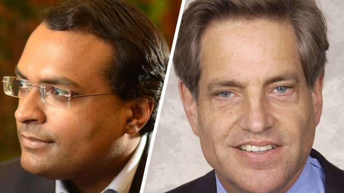 After selling Auris for $3.4 billion to J&J, CEO Frederic Moll and lead investor Ajay Royan come to Disrupt