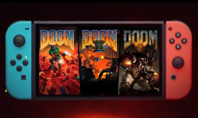 Doom โรงเรียนเก่าและภาคต่อมาที่ Switch, Xbox One และ PS4 thumbnail